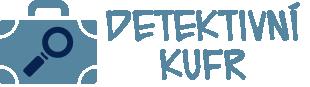 Logo detektivního kufru